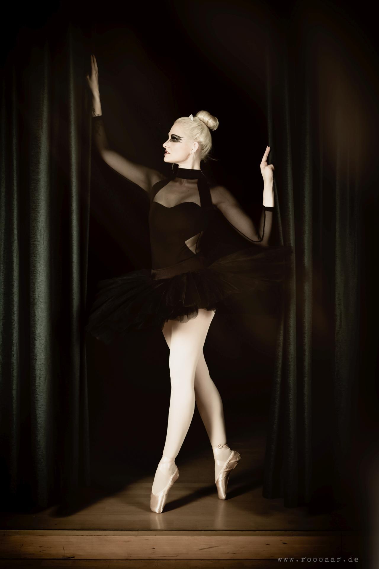 Portrait Black Swan Ballett Leipzig