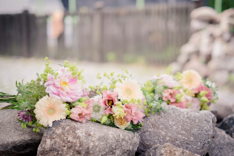 Hochzeitsfoto Leipzig Blumenstrauß Brautstrauß
