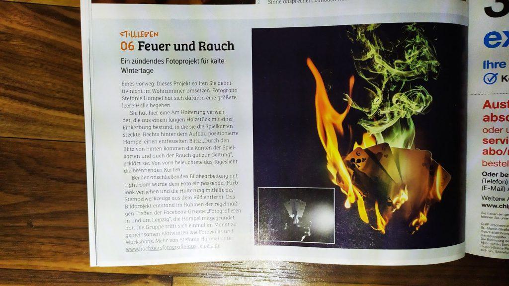 """unser Foto in der Zeitschrift """"CHIP Foto und Video"""""""